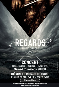 affiche regards CONCERT n°1